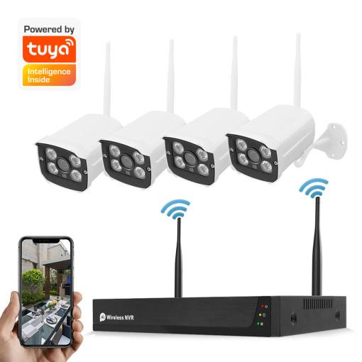 4CH 5MP HD Wireless Surveillance Kit