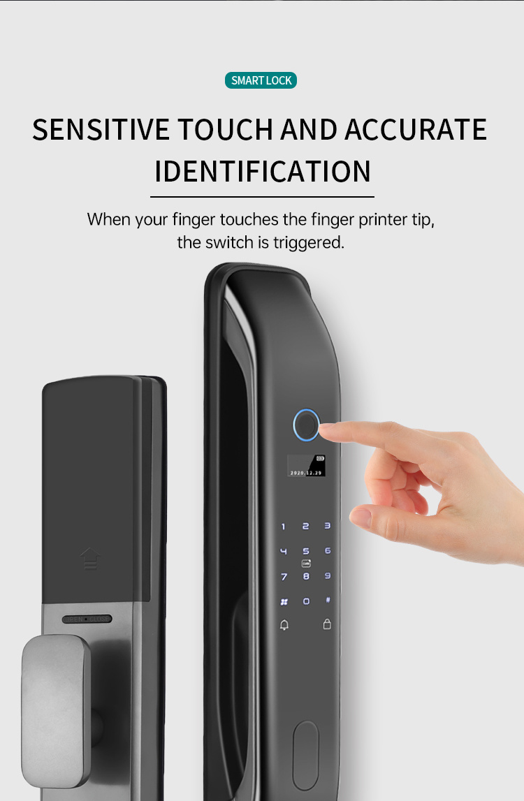 Smart Home Lock powered by tuya