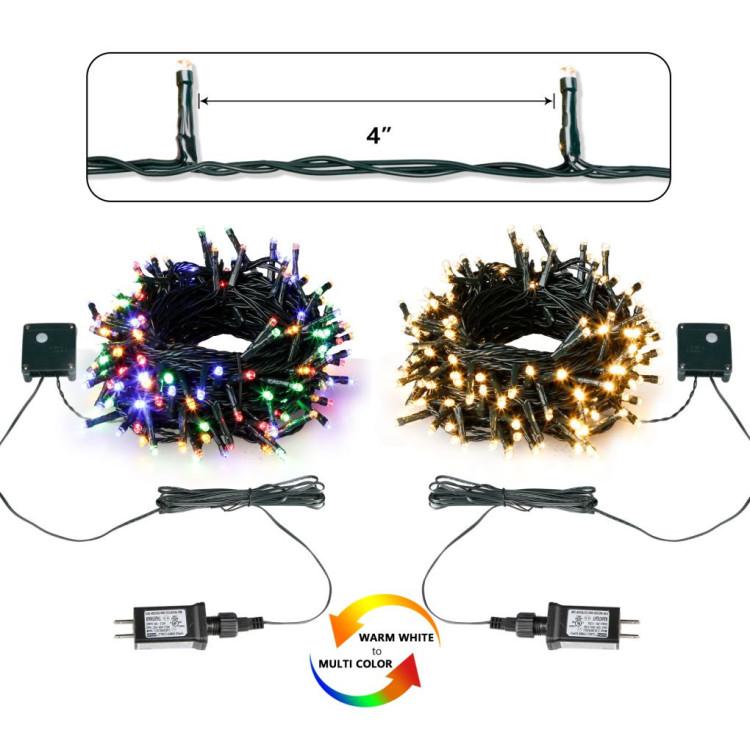 Voice Controlled 200L LED App RGBWW String Light