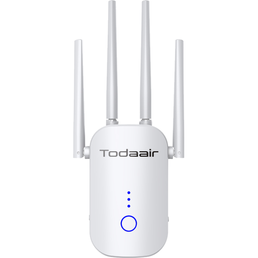 TODAAIR WiFi Extender 1200Mbps Signal Booster Range Repeater