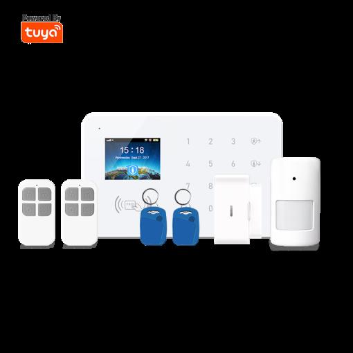 Wi-Fi+GSM/2G Home Burglar Alarm System Kit