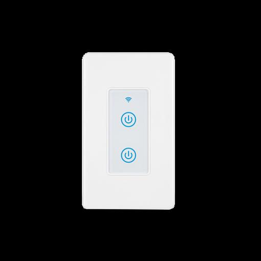DS-123-2  Smart 2gang Wi-Fi Switch