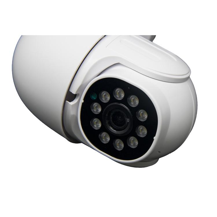 Unistone 2/3MP WIFI Dual Light Speed Dome PTZ Camera with 4X Zoom