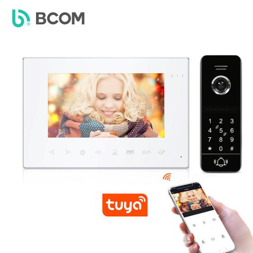 4 wire Tuya APP control villa video video intercom