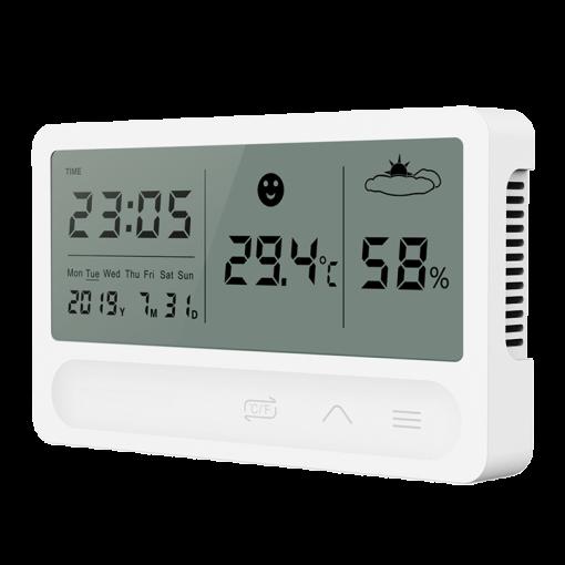 WiFI Temperature and Humidity Sensor Clock
