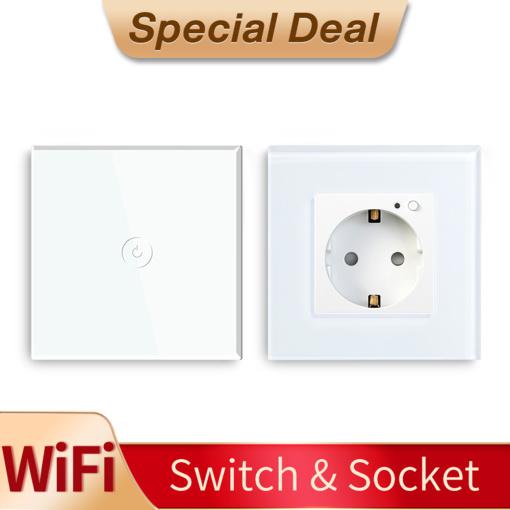 Special Deal Wi-Fi Socket + Wi-Fi Switch