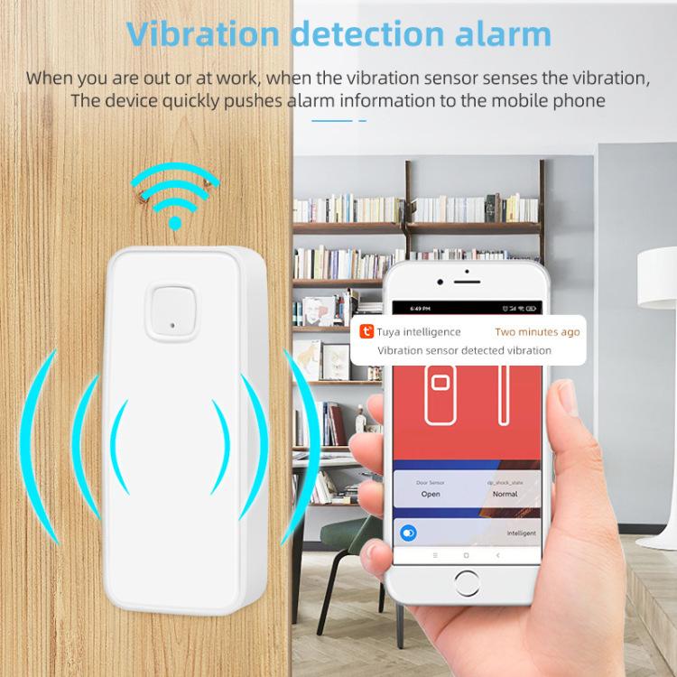 Vibrating door sensor