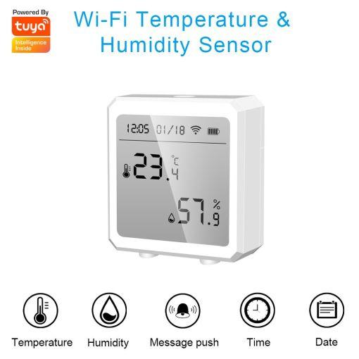 Wi-Fi Temperature and Humidity Sensor