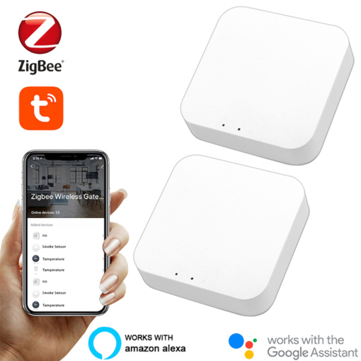 Tuya Zigbee Bridge 3.0 Smart Home Gateway Hub Remote Control Zigbee Devices Via Smart Life APP Works