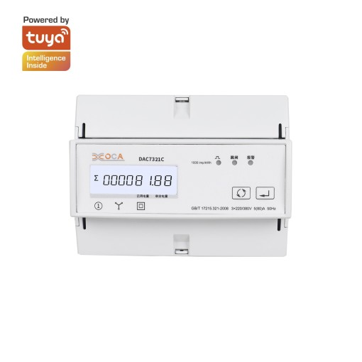 Three Phase Multi-function Smart Wi-Fi Intelligent Electric Energy Meter