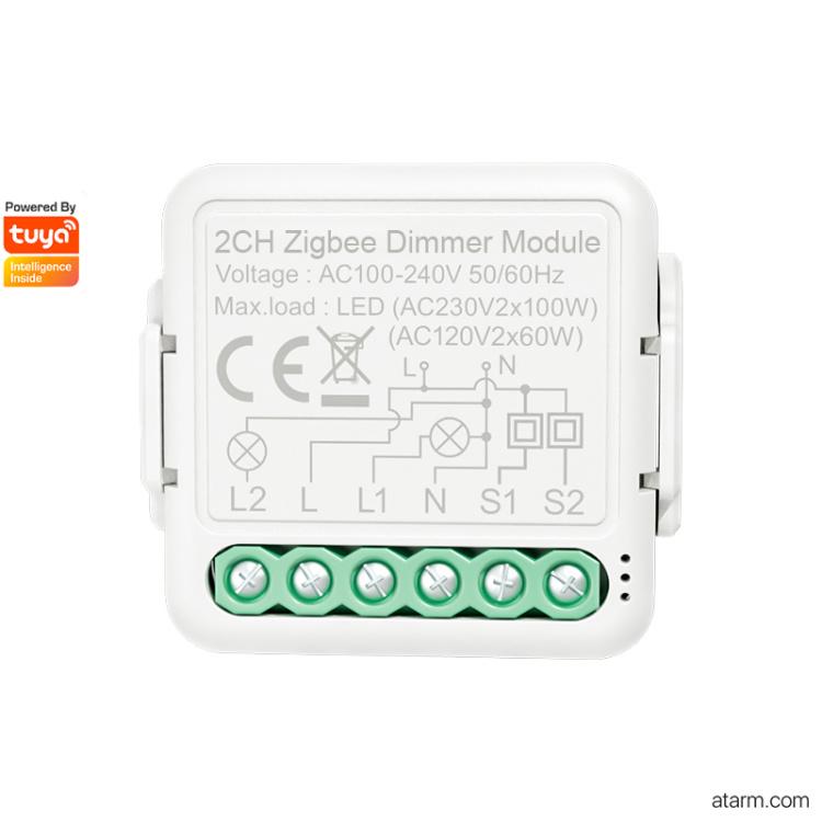 SMD-02Z Zigbee 2CH Dimmer Module