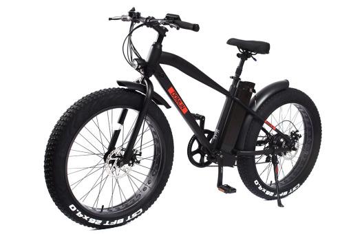 "26""FAT Bike 36V 10Ah 250W SHIMANO 7 Speed with LED Display"