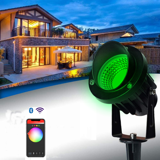 LED outdoor low voltage mini lawn ground plug light garden garden light decoration energy-saving atmosphere street light