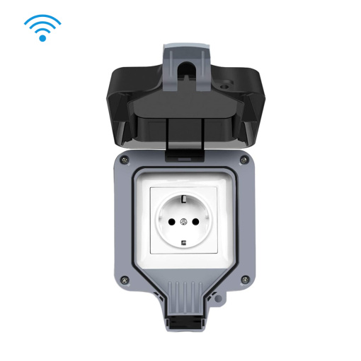 Smart Wi-Fi Socket Outdoor Waterprof EU Plug