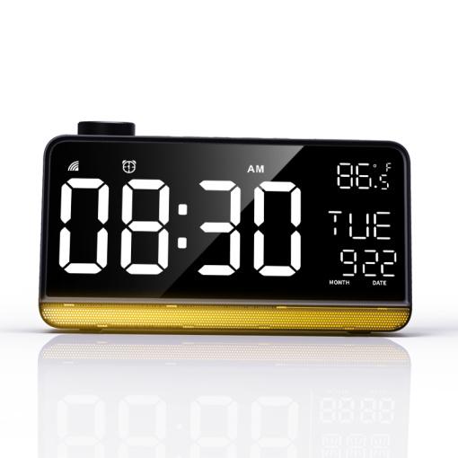 Smart Wi-Fi Large Display Alarm Clock With Radio