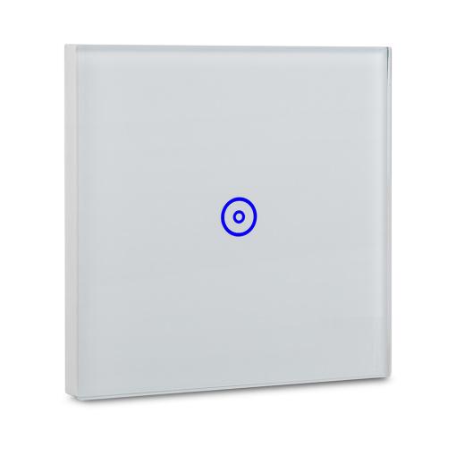 UK/EU Smart Wi-Fi  Wall Galss Touch Switch 1Gang