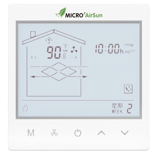Controller for Heat Exchange Ventilator