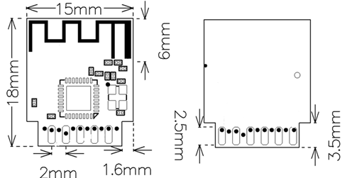 WB2S Module Datasheet