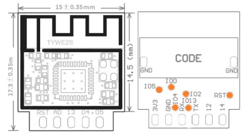 TYWE2S Module Datasheet