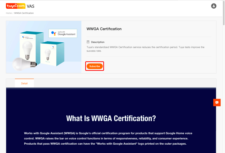 WWGA Certification
