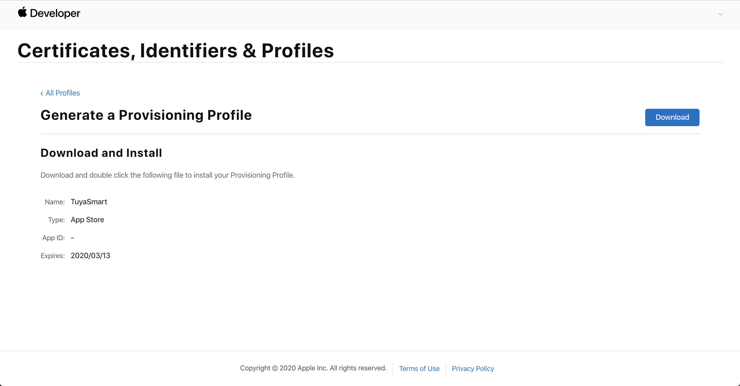 Making iOS Certificates