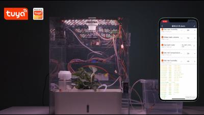 超全功能智能植物生长机解决方案Demo