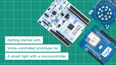 Designing a voice-control product prototype (MCU access)