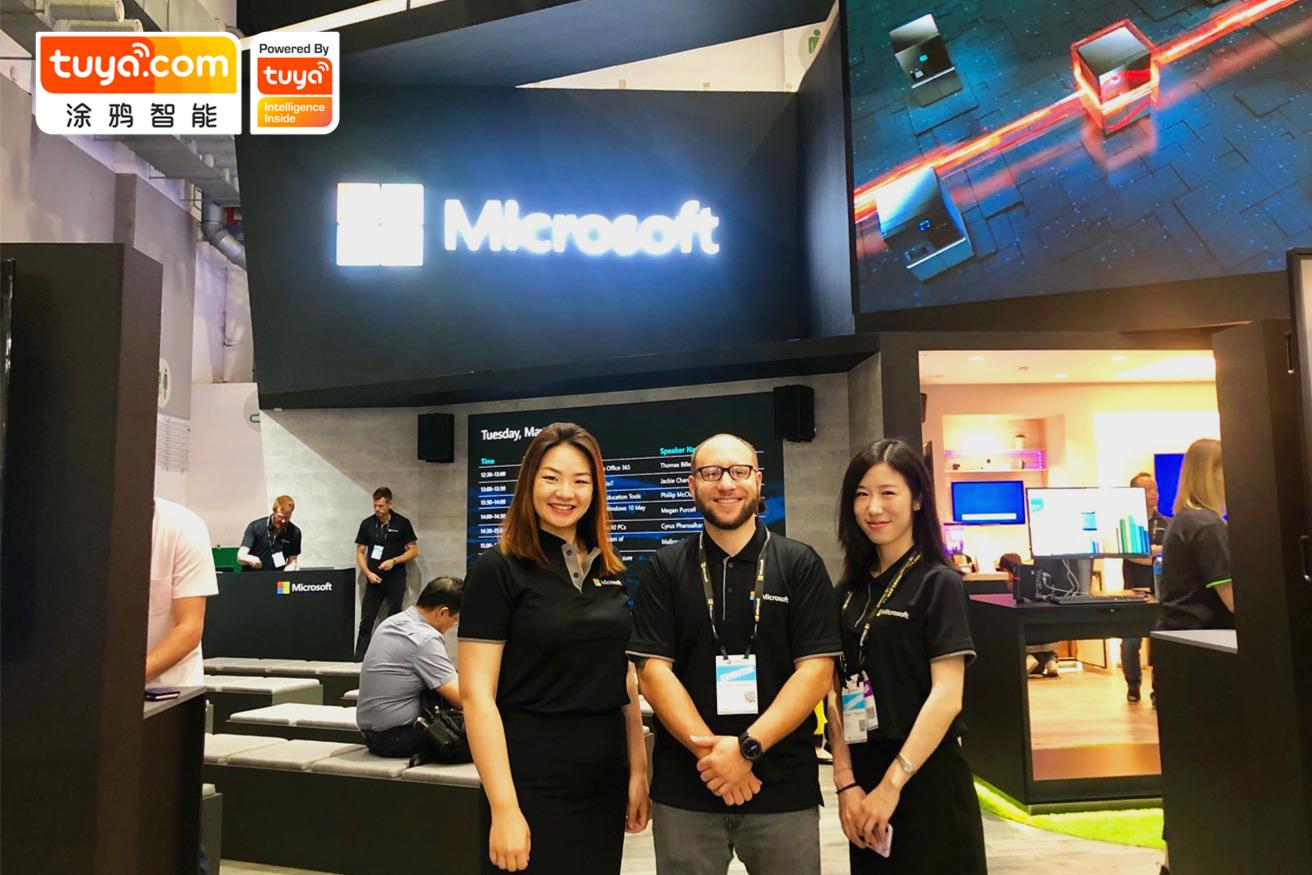 2019 Computex Microsoft Booth