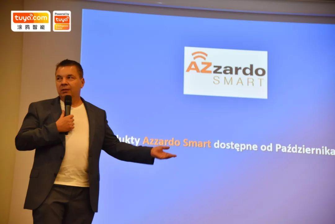 AZzardo CEO Mariusz Prymowicz现场分享