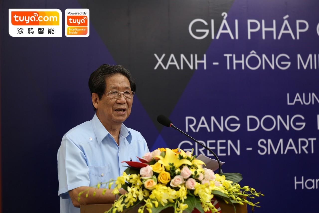 曙光CEO Nguyen Doan Thang进行致辞