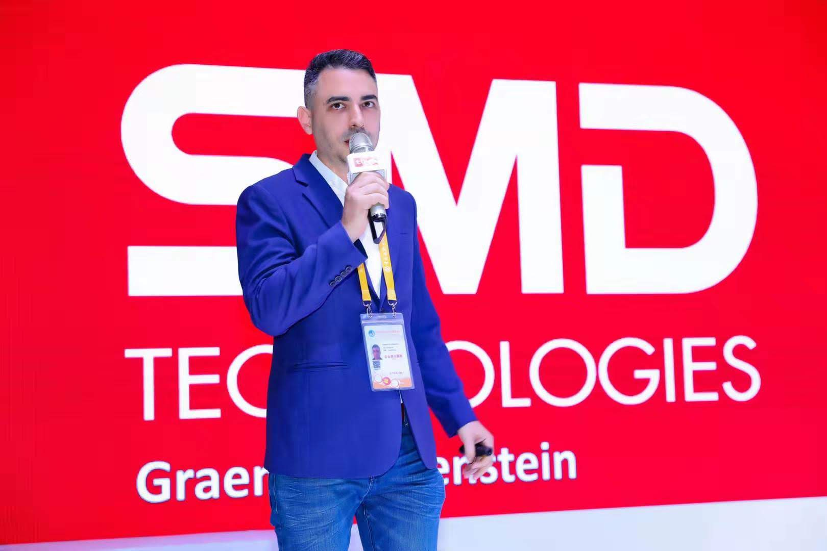 China General Manager of SMD Technologies: Graeme Rubenstein