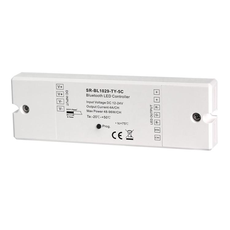 RGB+CCT Color Bluetooth LED Controller