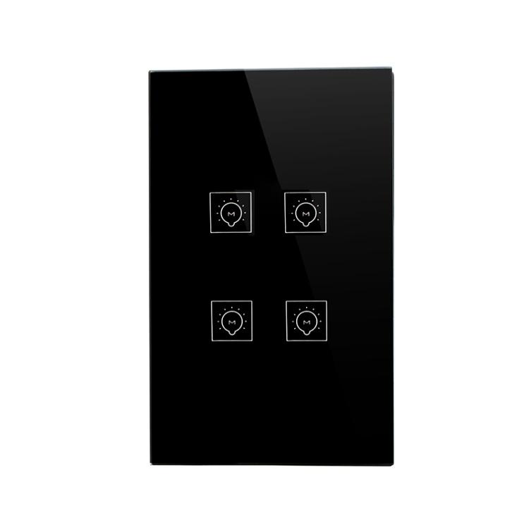 Wi-Fi Lighting Switch Smart Switch Remote Control 4 Gang Switch Tuya App