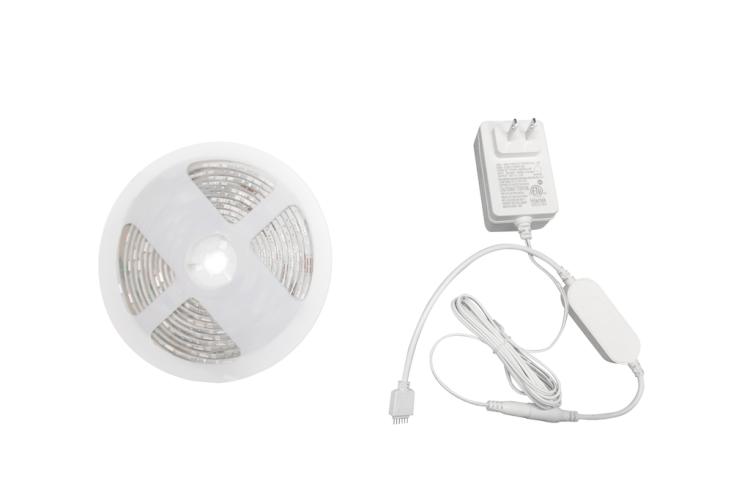 Wi-Fi Smart Strip Light 16.5ft IP44 RGB+CCT
