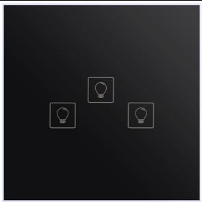 K51 N Wire 3 Gang  Switch(Wi-Fi)