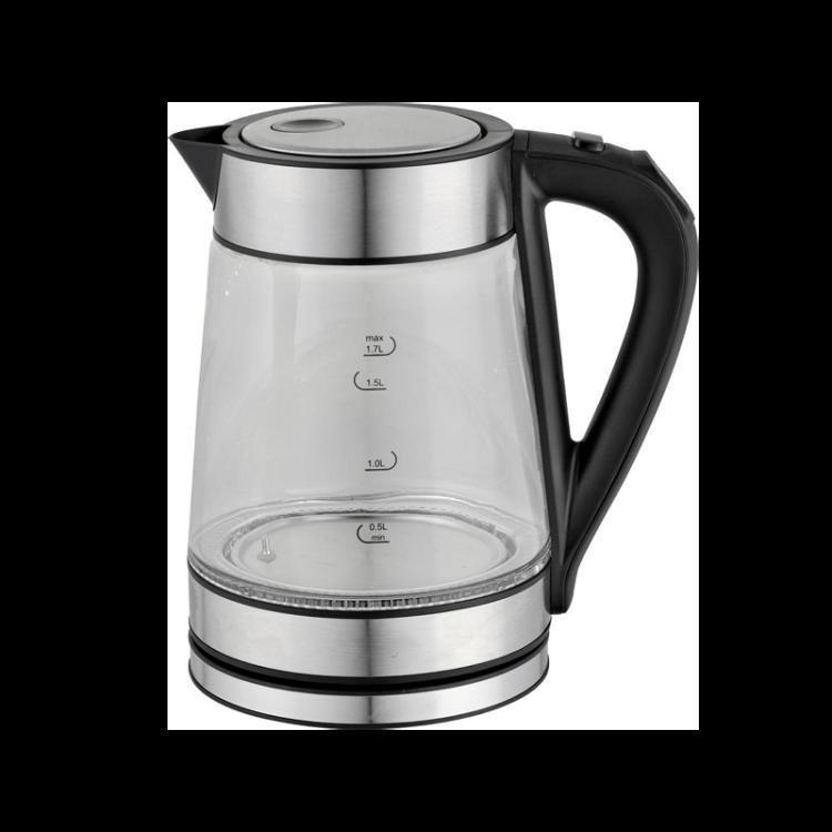 Wi-Fi Electric Glass Kettle Cordless Tea Coffee Pot Auto Shut-Off