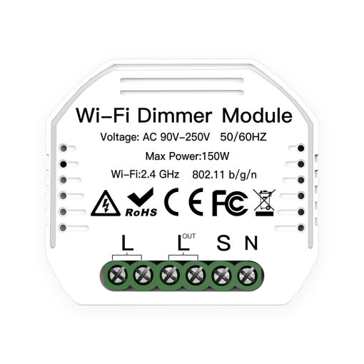 App Control Dimmer Switch Module 90-250V Work With Reset Switch