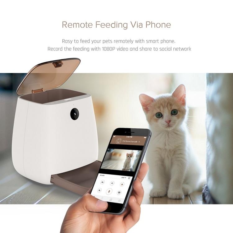 Wi-Fi Pet Feeder