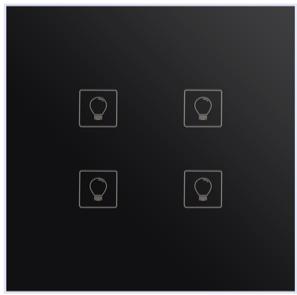 K51 N Wire 4 Gang  Switch(Wi-Fi)