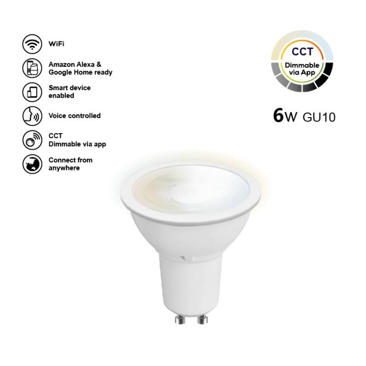 SMD GU10 6W TW Bulb