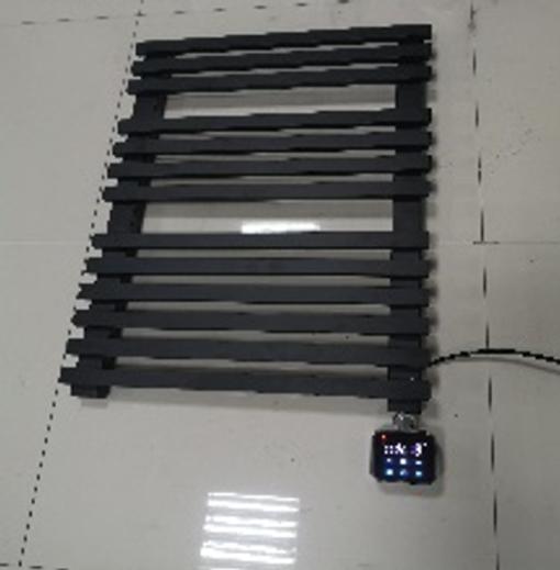Smart electric towel rack