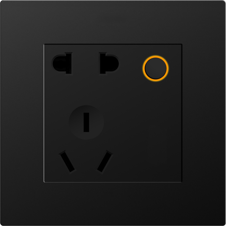 D8S  2 pin & 3 pin universal socket (Zigbee) (with 1-relay)