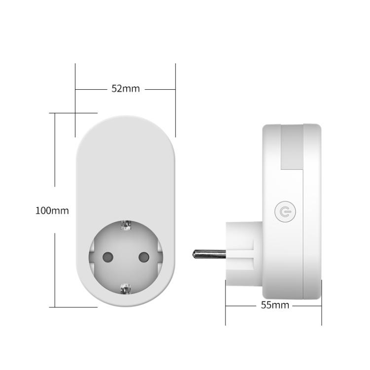 GDKES Wi-Fi+BLE EU Plug with Dimmable Night Light