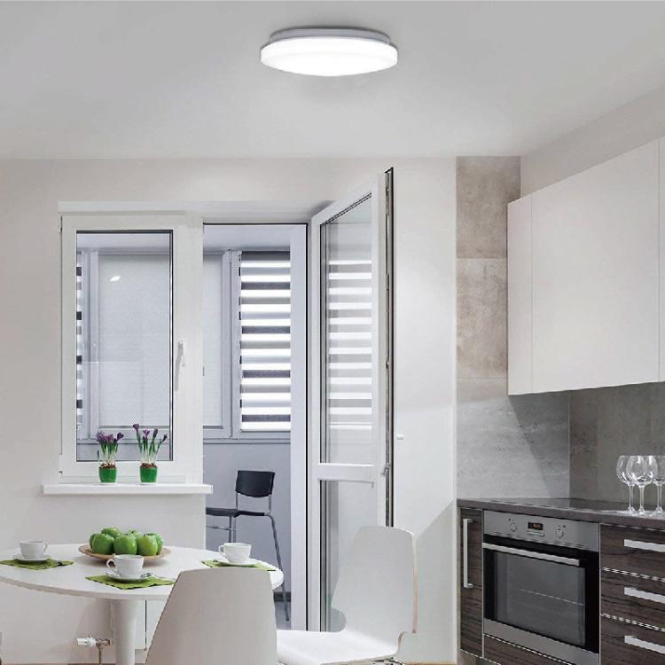 Slim Full White Ceiling light 18W TW