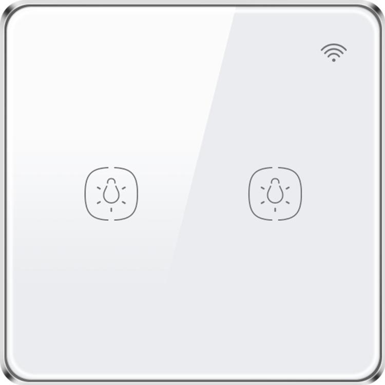 Wi-Fi Lighting Switch 2 Gang