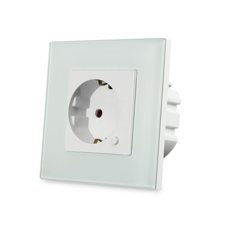 EU Smart  Wi-Fi  Ble Zigbee Wall Outlet Socket with USB