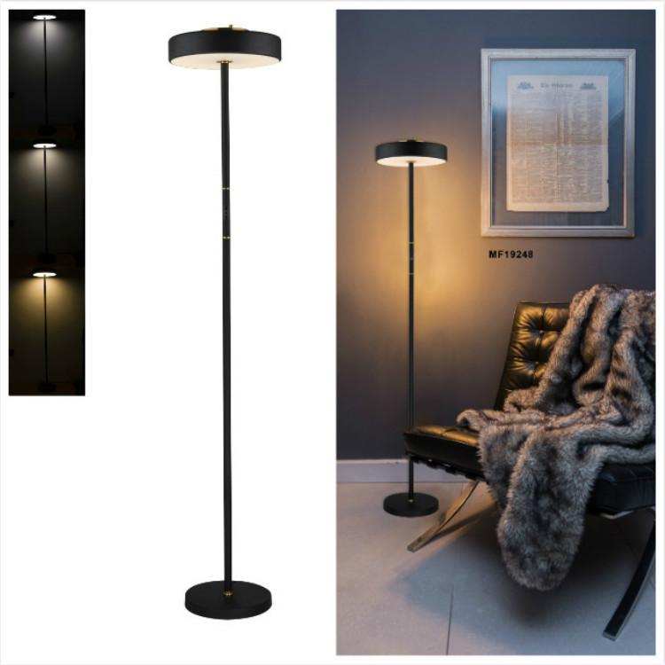 Amazon explosion models smart floor lamp cross-border exclusively for LED touch floor lamp modern minimalist floor lamp