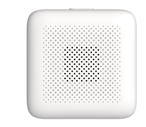 Self-developed zigbee sound and light alarm