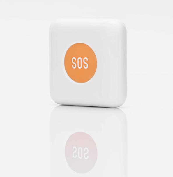 Self-developed zigbee emergency button