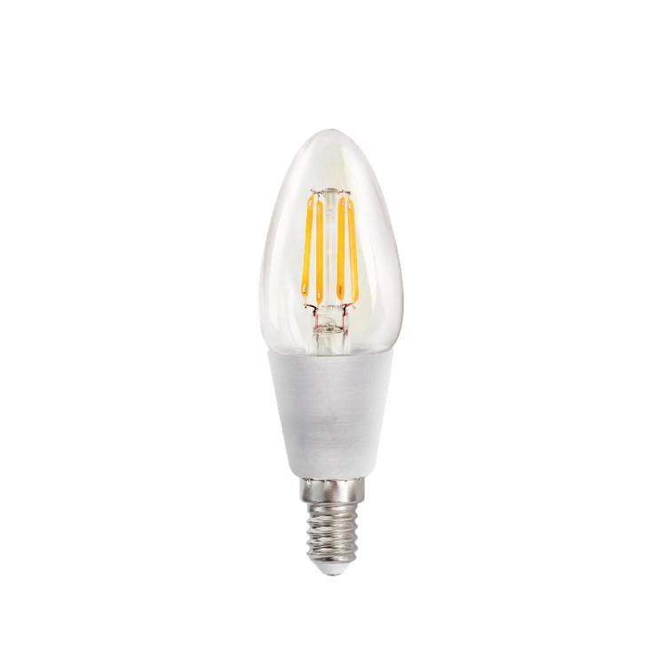 Filament B11 4.5W TW Clear E12 Bulb